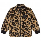 Leopard Print Fleece Sweater
