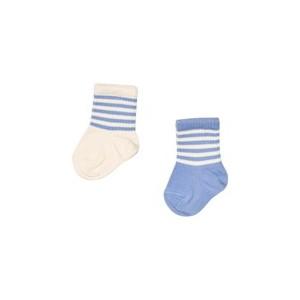 Pack of 2 Blue And White Socks