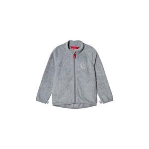 Grey Melange Inrun Fleece Sweater