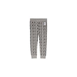Grey Tattoo Print Sweat Pants