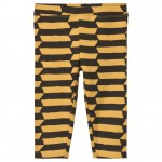 Banana Yellow and Touba Black Wolof Leggings