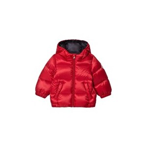 Red Macaire Down Puffer Coat