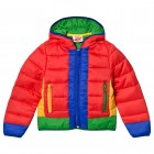 Red Packaway Puffa Jacket