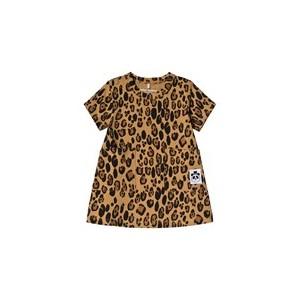 Beige Basic Leopard Dress