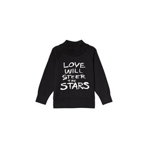 Black Love Knitted Sweater