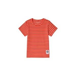 Red Striped Rib T-Shirt