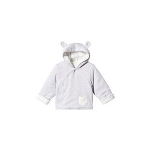 Grey Organic Cotton Kimono Coat