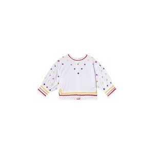 White Star Embroidered Shirt
