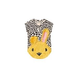 Nova Leopard Print Bunny Dress