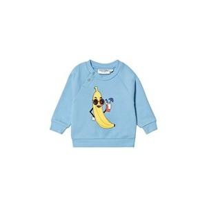 Light Blue Banana Sweatshirt