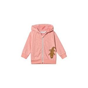 Pink Crocco Zip Hood