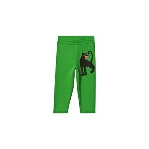 Green Panther Sweatpants