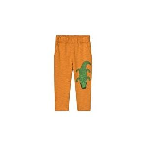 Brown Crocco Sweatpants