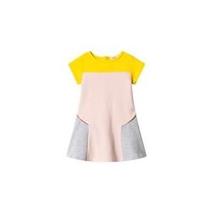 Multi Colour Block Sweat Dress