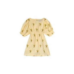 Yellow Wheat Spikes Dress