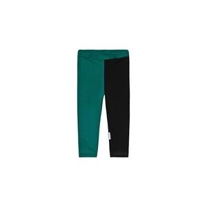 Cactus & Black Two-Tone Leggings