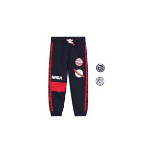 Navy And Red NASA Sweatpants