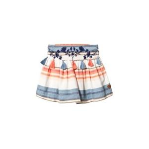 Pink and Blue Tassle Sandra Skirt