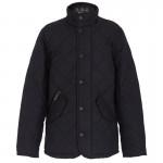 Black Classic Quilt Chelsea Jacket