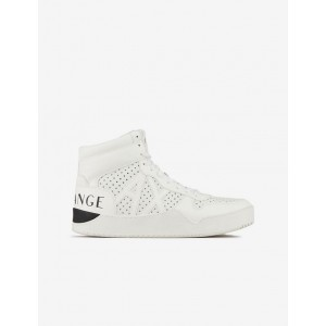 Armani Exchange LEATHER HIGH TOP SNEAKER, Sneakers for Men | A|X Online Store