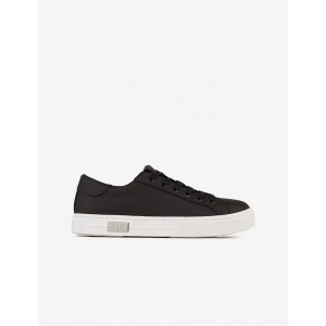 Armani Exchange LEATHER SNEAKERS, Sneakers for Women | A|X Online Store