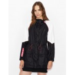 Armani Exchange HOODED JACKET, Coat for Women | A|X Online Store