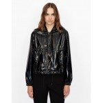 Armani Exchange FAUX LEATHER JACKET, Blouson Jacket for Women | A|X Online Store