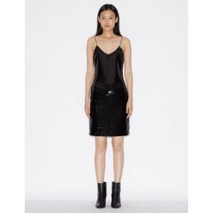 Armani Exchange SEQUIN DRESS, Mini Dress for Women | A|X Online Store