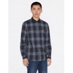 Armani Exchange PLAID SHIRT, Checked Shirt for Men | A|X Online Store