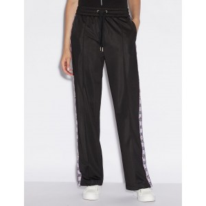 Armani Exchange LOGO TAPE TRACK PANTS, Track Pants for Women | A|X Online Store