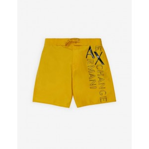 Armani Exchange BOXER STYLE SWIM TRUNKS, Trunk for Men | A|X Online Store