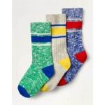 Chunky Socks 3 Pack - Multi
