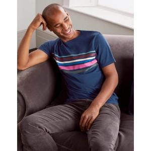 Graphic T-shirt - Multi Stripe