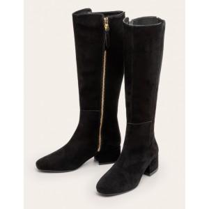 Worcester Knee High Boots - Black