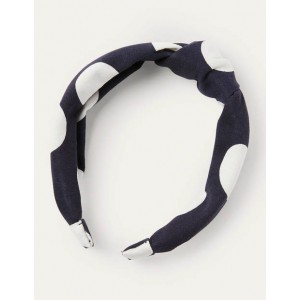 Knotted Headband - French Navy