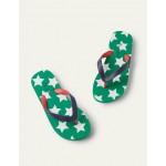 Flip Flops - Green Pepper Star