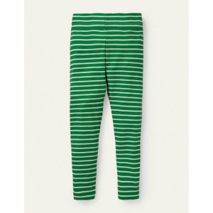 Fun Leggings - Sapling Green /Ivory