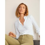 Frederica Jersey Shirt - White