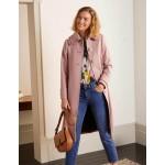 Ruffle Collar Coat - Pale Pink
