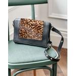 Stamford Multiway Bag - Tan Leopard/Black