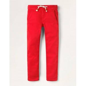 Jersey Skinny Jeans - Rockabilly Red