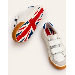 Leather Low Tops - White