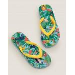 Printed Flip Flops - Mini Jungle