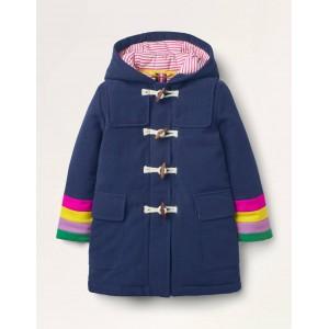 Wool Duffle Coat - College Navy