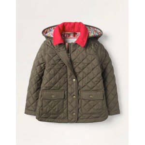 Quilted Jacket - Classic Khaki Green