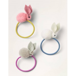 Hairbands 3 Pack - Multi Bunnies