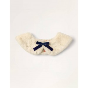 Faux-fur Collar - Vanilla Pod