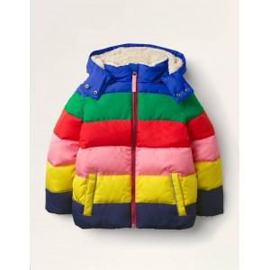 Cosy Padded Jacket - Multi Rainbow