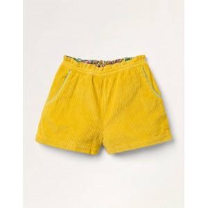 Chunky Cord Shorts - Honeycomb Yellow