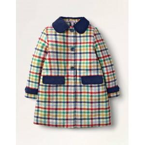 Wonderful Wool Coat - Multi Check